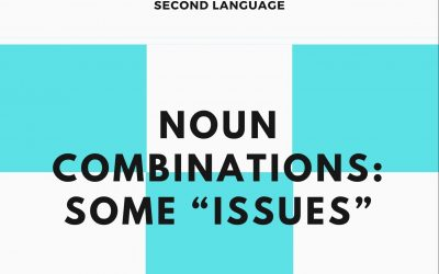 """Noun Combinations: Some """"Issues"""""""